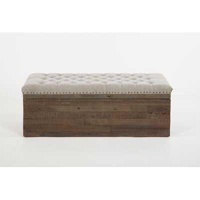 Allayna Solid Wood Flip Top Storage Bench - Wayfair