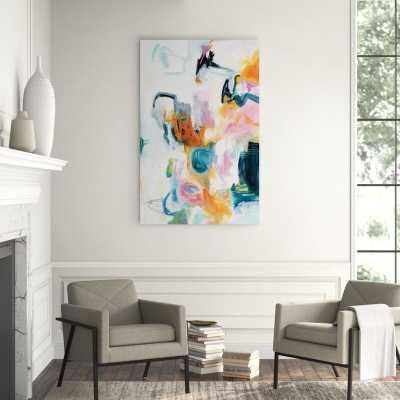 "Chelsea Art Studio 'Le Grande Jatte' Graphic Art Print Format: Outdoor, Size: 62"" H x 40"" W - Perigold"