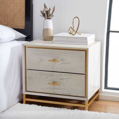 Hansboro 2 Drawer Nightstand - Wayfair