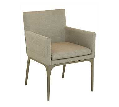 Aeko Upholstered Dining Armchair, Set of Two - Pottery Barn