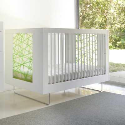 Alto 2-in-1 Convertible Crib Color: White - Perigold