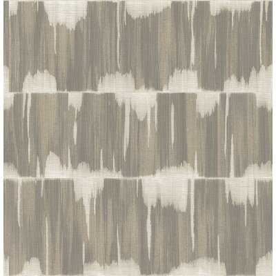 "Bonney Shibori 33' L x 20.5"" W Wallpaper Roll - AllModern"