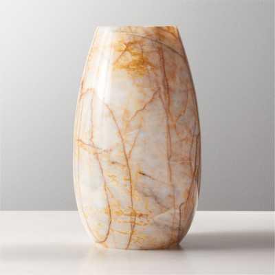 Reign Marble Vase - CB2
