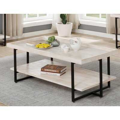 Rupe Sled Coffee Table with Storage - Wayfair