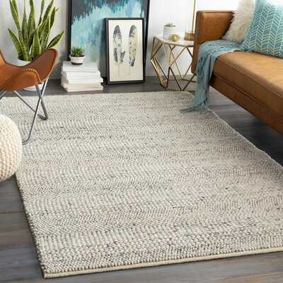 Soto Handwoven Flatweave Wool Cream Area Rug - Wayfair