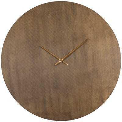 "Allis Oversized 35"" Wall Clock - AllModern"