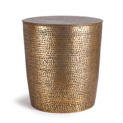 Orlo Drum End Table - Wayfair