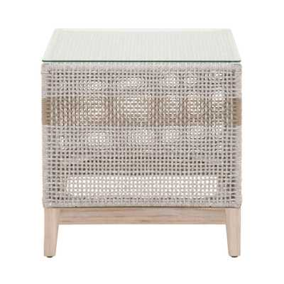 Tapestry Outdoor End Table - Alder House