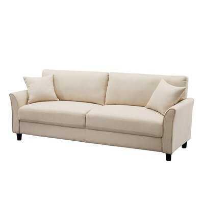 "Meri 85"" Wide Flared Arm Sofa - Wayfair"