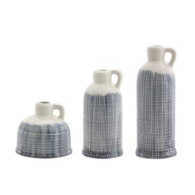 3 Piece Terracotta Table Vase Set - Wayfair