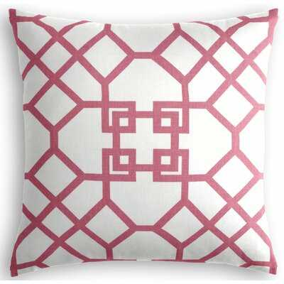Scallop Square Linen Pillow Cover & Insert - Wayfair