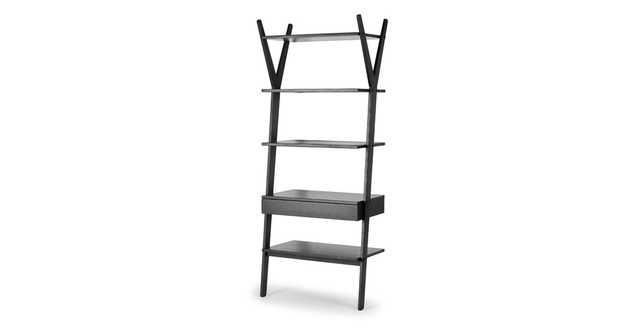 Lignum Black Shelving Unit - Article