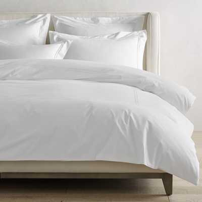Chambers(R) Italian Hotel Embroidered Duvet Cover, Full/Queen, White - Williams Sonoma