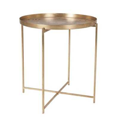 Bostwick Tray Top End Table - Wayfair