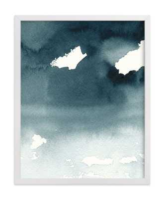 Mist Rises Over The Water Art Print - Minted