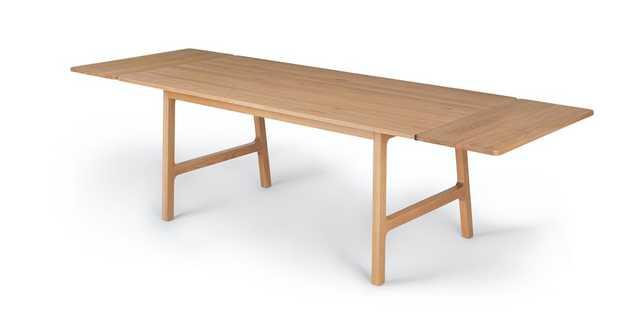 Kirun Oak Dining Table, Extendable - Article