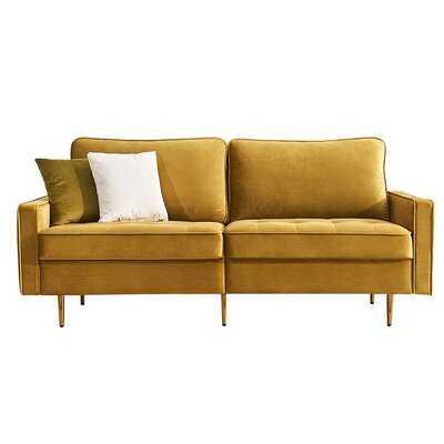 Jace Velvet 71'' Square Arm Sofa - Wayfair