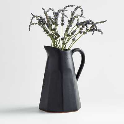 Stevey Black Pitcher - Crate and Barrel