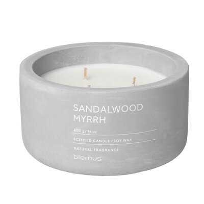 Sandalwood Myrrh Scented Jar Candle - AllModern