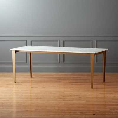 "Paradigm 80"" Dining Table - CB2"