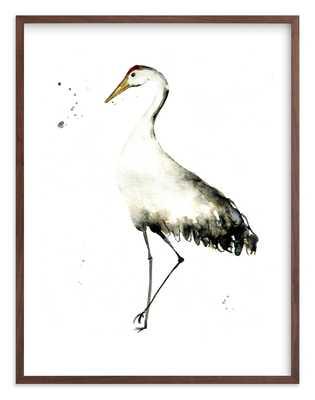 Cranes On The Go Children's Art Print - Minted