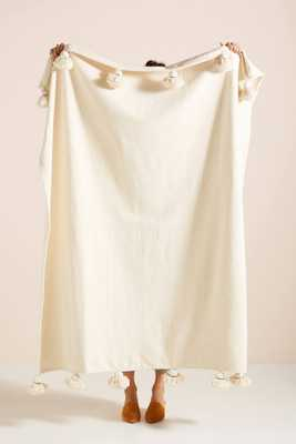 Woven Nayland Throw Blanket - Anthropologie