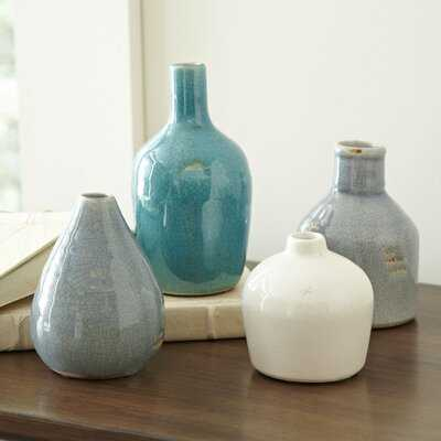 Weon 4 Piece Ceramic Table Vase Set - Birch Lane