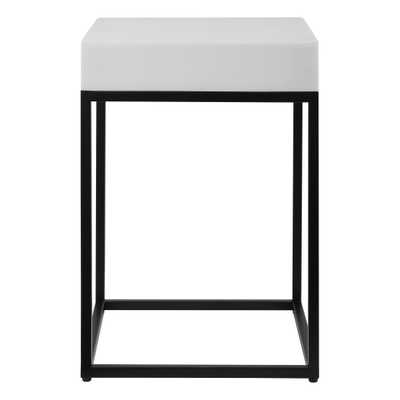Gambia Marble Accent Table - Hudsonhill Foundry