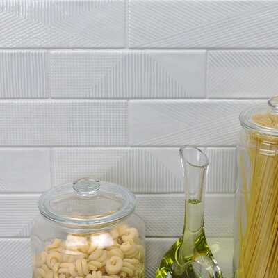"Ace 3"" x 8"" Ceramic Subway Tile - Birch Lane"