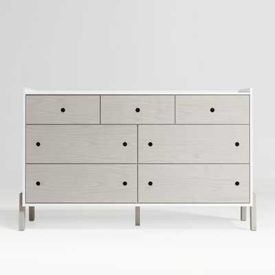 Lamont Two-Tone Dresser - Crate and Barrel