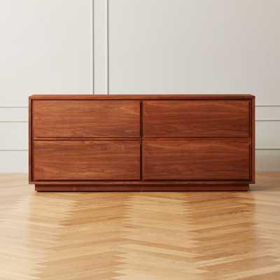Gallery Walnut Low Dresser - CB2