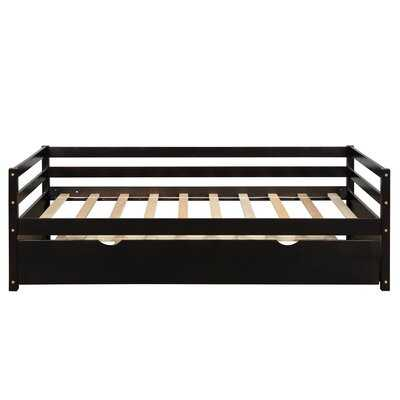 Daybed With Trundle Frame Set, Twin Size, White - Wayfair