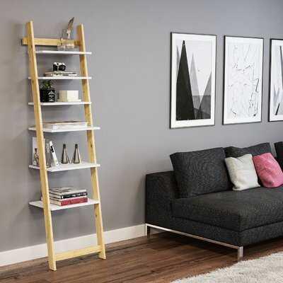 Maura Ladder Bookcase - Wayfair
