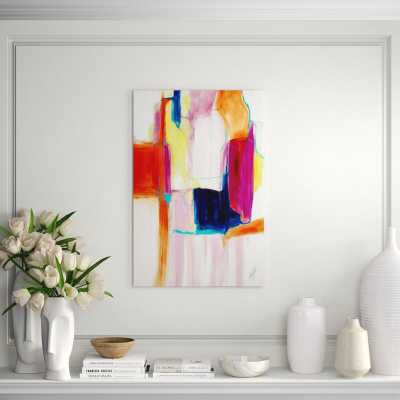 "Chelsea Art Studio 'Seasonal Shift' Print Format: Image Brush Gel, Size: 60"" H x 40"" W - Perigold"