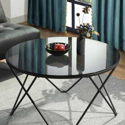 Tindal Cross Legs Coffee Table - Wayfair