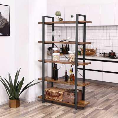 Maziarz Stable Storage Etagere Bookcase - Wayfair