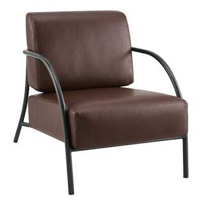 Modern Flint Accent Chair - Wayfair