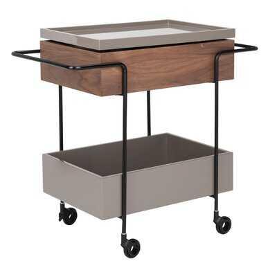 Truvy Tray Bar Cart - AllModern