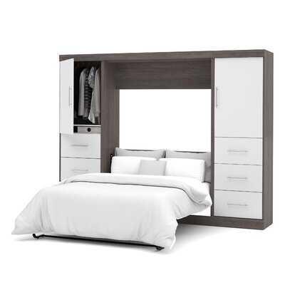 Colquitt Storage Murphy Bed - Wayfair
