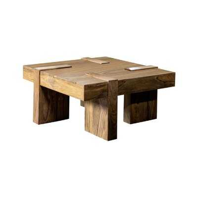 Adrius Solid Wood Coffee Table - Wayfair