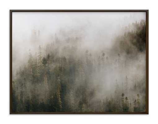 Pacific North Fog Art Print - Minted