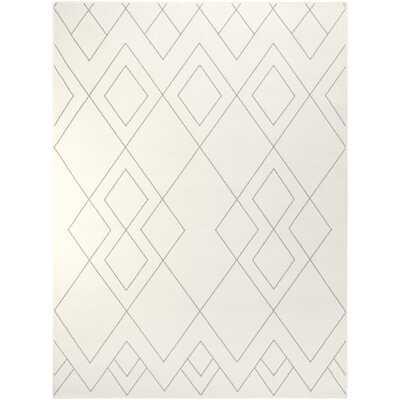 Easton Geometric Ivory Area Rug - Wayfair