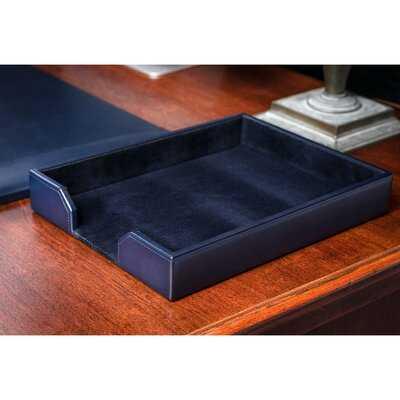 Gregson Leather Paper Organizer - Wayfair