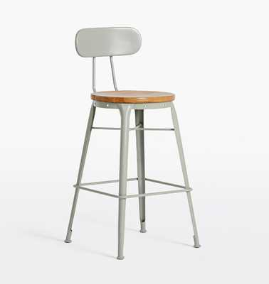 Cobb Counter Stool with Back - Rejuvenation