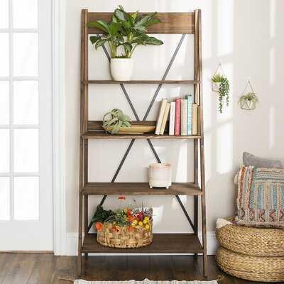 Jessie Solid Wood Ladder Bookcase - Wayfair