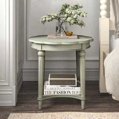 Quitman End Table with Storage - Wayfair
