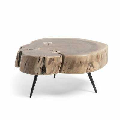 Adalynn 3 Legs Coffee Table - Wayfair