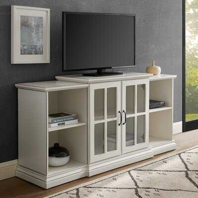 "Taft Cabinet/Enclosed storage TV Stand for TVs up to 65"" inches - Wayfair"