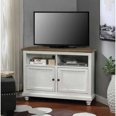 "Curtsinger Corner TV Stand for TVs up to 44"" - Wayfair"