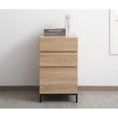 Senna 3-Drawer Vertical Filing Cabinet - Wayfair
